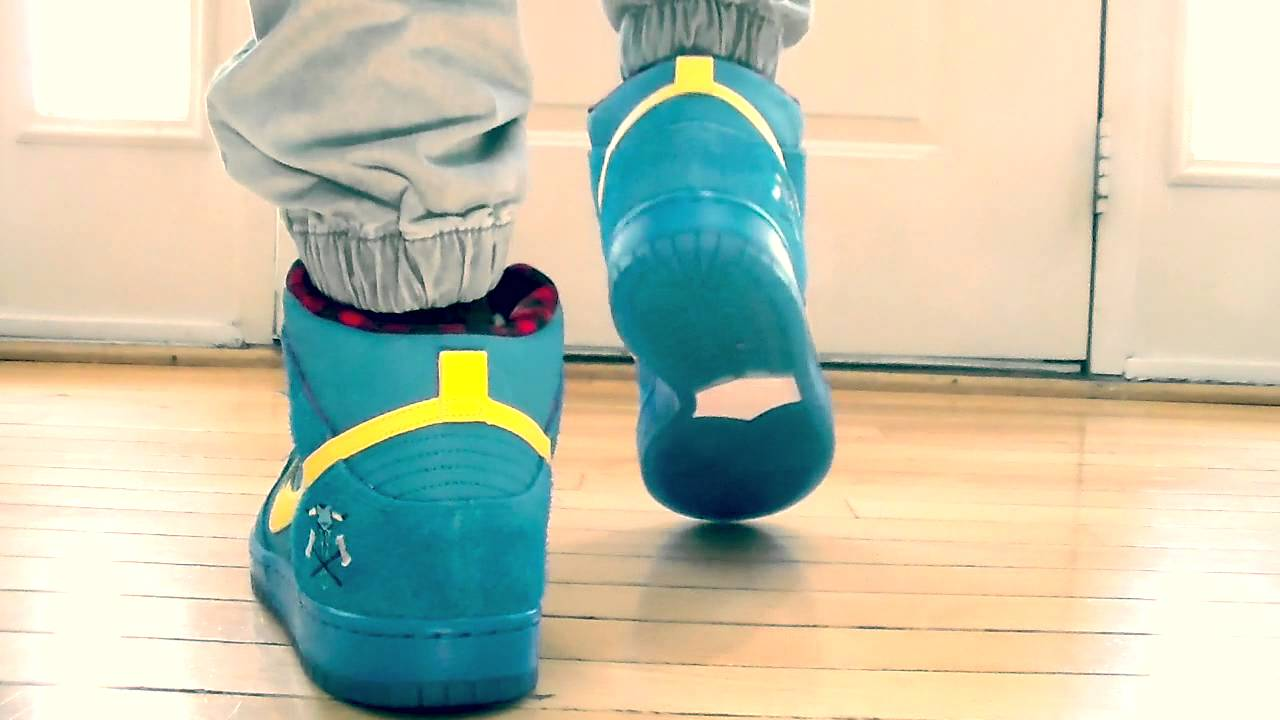 Nike SB High dunk - Familia On Feet