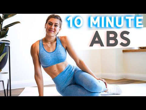 10 minute AB WORKOUT | Train Anywhere, No Equipment