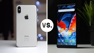 iPhone X Vs. Essential PH-1 (2018)