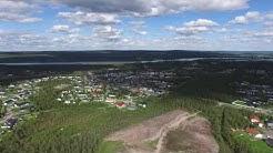 Vennivaara, Rovaniemi. Nousu maasta 120 metriin.