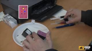 Заправка оригинальных картриджей 122 на HP DeskJet - видеоинструкция для чайников(Как заправить 122е картриджи для принтера HP? Подробный процесс заправки на видео. Для демонстрации использов..., 2016-06-02T10:54:37.000Z)