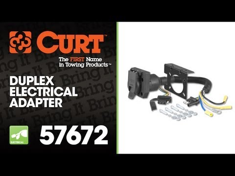 hqdefault curt 57672 duplex electrical adapter youtube  at panicattacktreatment.co