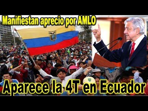 Ni Maduro Ni Correa, Es AMLO La Inspiración Del Pueblo Ecuatoriano