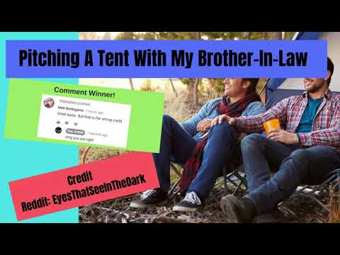 Male ASMR - Pitching A Tent With My Brother-In-Law