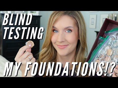 FOUNDATION COLLECTION and RANKING with BLIND TESTING | TOP FOUNDATIONS 2018
