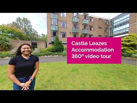Newcastle University Castle Leazes 360 Accommodation Tour
