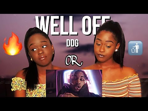 DDG - Well Off (Official Music Video) REACTION!!! | *Hit or Miss?!*