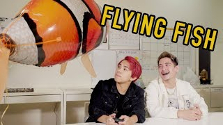 We View and Review - REMOTE CONTROL FLYING FISH thumbnail