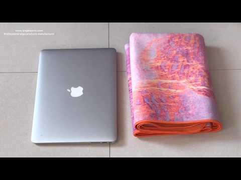 printing travel yoga mat - iyogasports