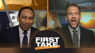 First Take debates: Donovan Mitchell and Ben Simmons as Co-Rookies of the Year? | First Take | ESPN