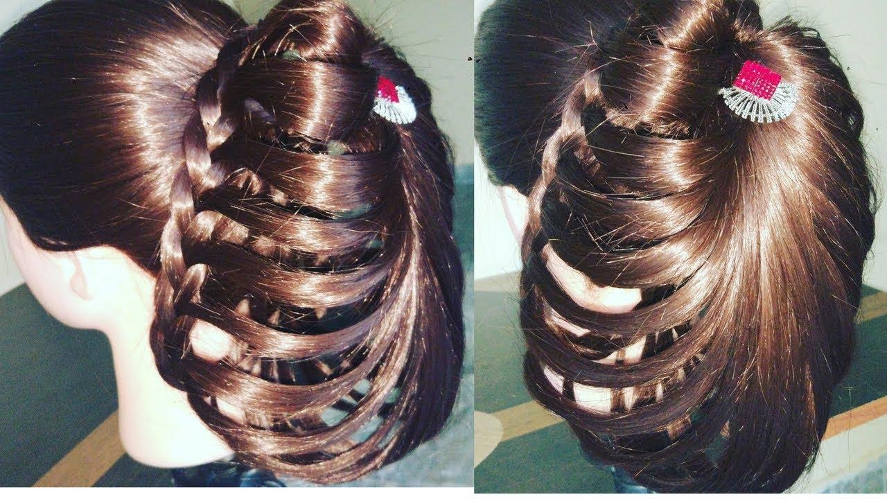 दुल्हन जुड़ा हेयर स्टाइल || ब्राइडल हेयर स्टाइल || दुल्हन हेयर स्टाइल || bridal bun hairstyles.