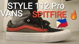 VANS STYLE 112 PRO (SPITFIRE OS) on