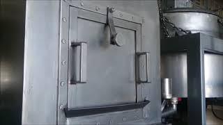 Helva Makinesi Beşik Tip Halwa Cooker Barrel Type 150kg