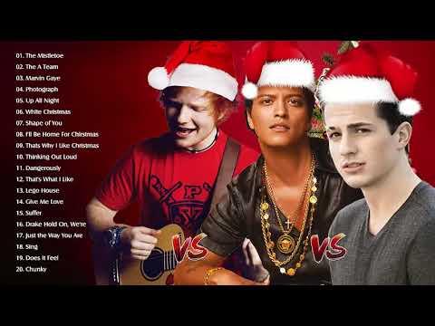 Bruno Mars,Charlie Puth,Ed Sheeran Best Christmas Songs,Greatest Hits Pop Playlist Christmas 2019