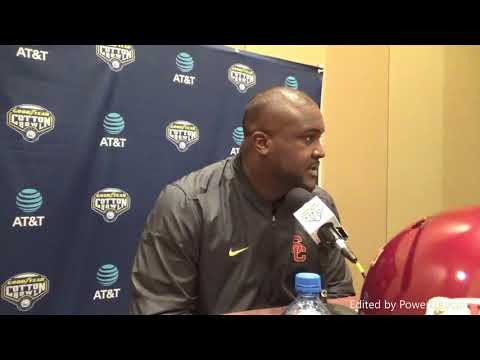 USC offensive coordinator Tee Martin on Trojans recruiting scope