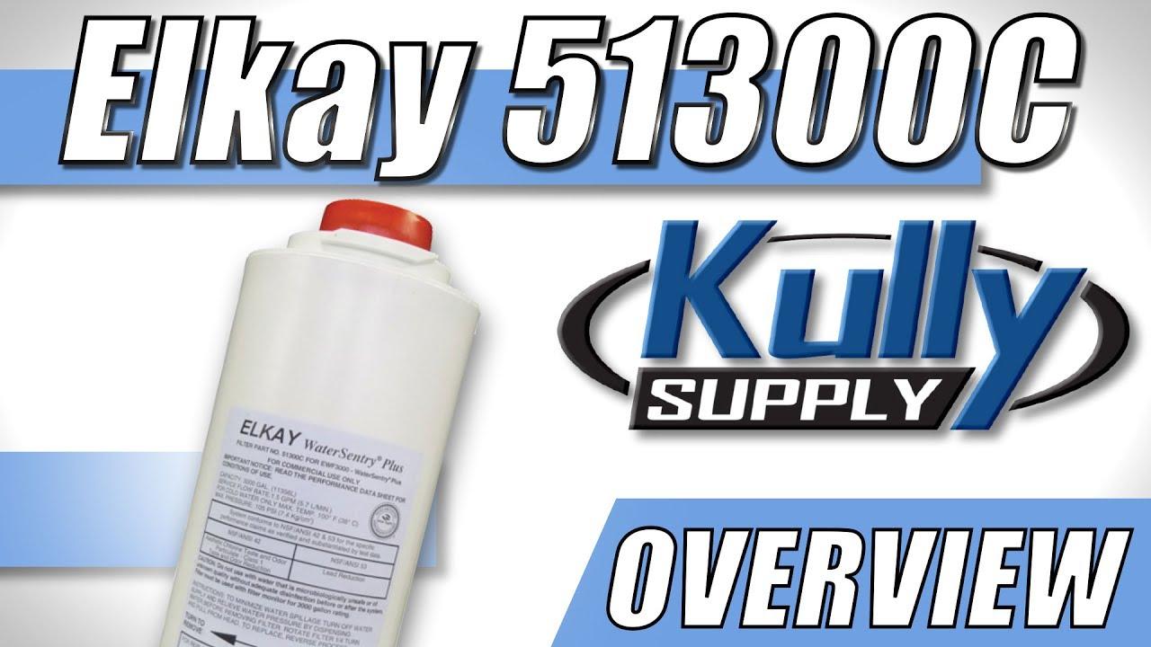 Elkay Water Sentry Plus Replacement Filter (51300C) - KullySupply com