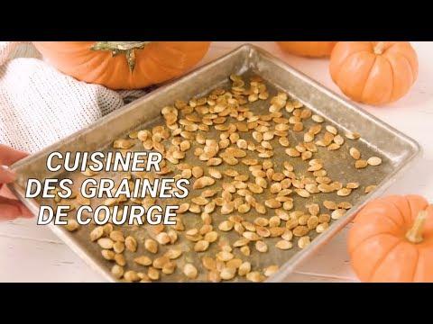 Comment cuisiner des graines de courge youtube - Comment cuisiner les courges ...
