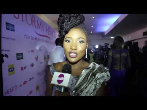 "Judith Audu Movie premiere ""Stormy Hearts"""