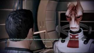 mass effect 2 mordins medical advise tali