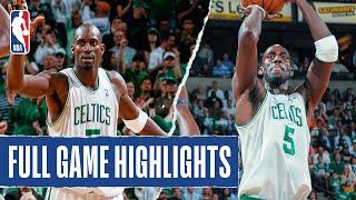 Kevin Garnett Leads Celtics to Game 5 Victory! #20HoopClass