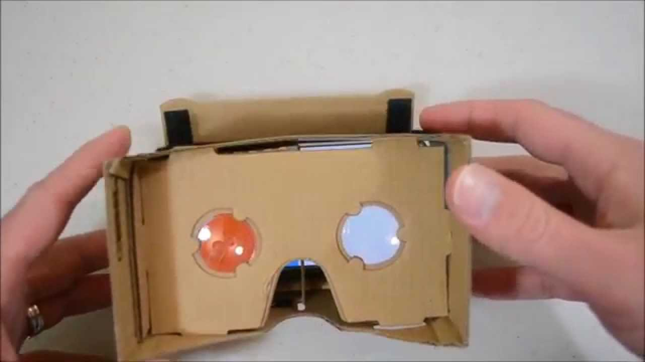 aaea5b65a19 Google Cardboard Virtual Reality 3D Glasses  Unboxing   Assembly ...