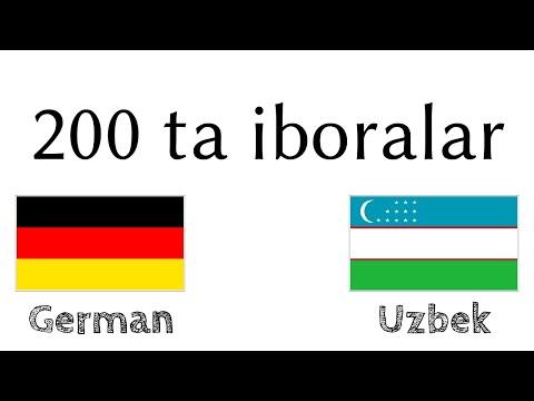 200 ta iboralar - Nemischa - Oʻzbekcha