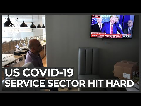 COVID-19 effect: US service sector among hardest hit by lockdown