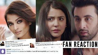 Ae Dil Hai Mushkil TRAILER REVIEW | Fans Tweets