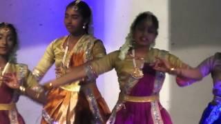Thames Bak Maha Ullela 2016 - Kathak And Bharathanatiyam(mix)Dance