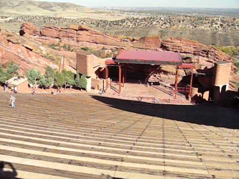 On the way to Denver - Red Rocks Park!