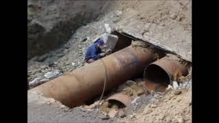 Соколовая стоит в пробках. Коммунальщики демонтируют старую трубу