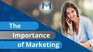 Importance of marketing -