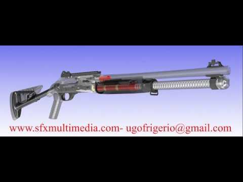 un fucile semiautomatico