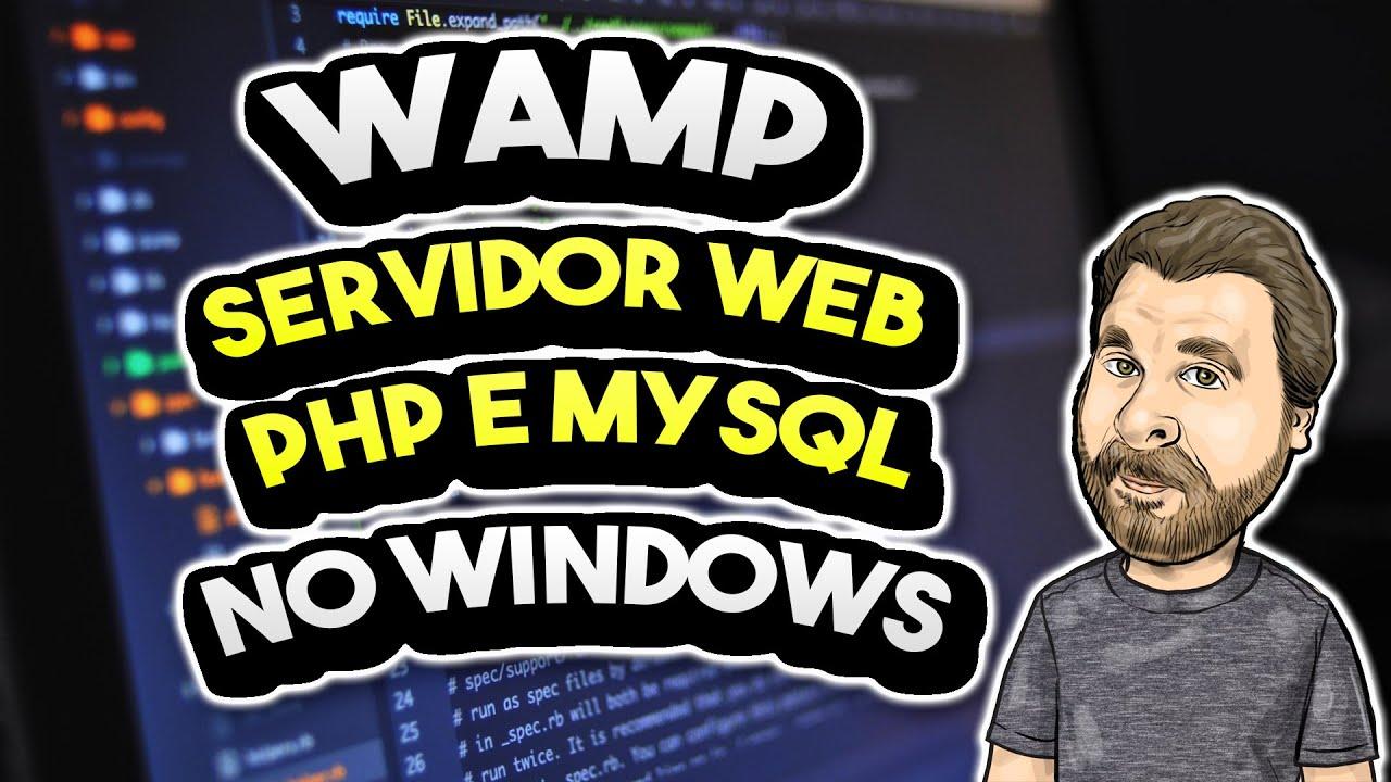 Wamp - Hospede seu site PHP e MySQL no Windows - Localhost!