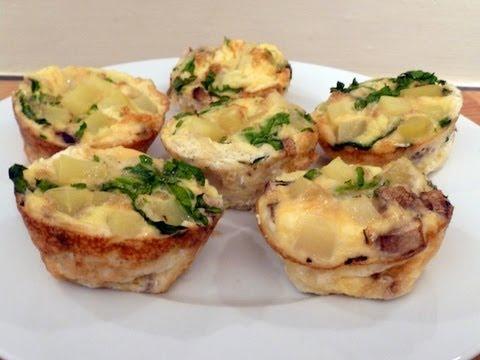Spinach & Mushroom Frittatas Cook-Along Video