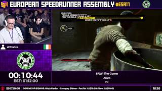 #ESA17 Speedruns - SAW: The Game [Any%] by uhTrance