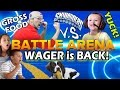 Skylanders Family Food Wager Battle Mode is BACK!! Dad vs. Chase - Sky 5 Wish!  (Swap Force in 2015)