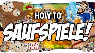 ???? How to SAUFSPIELE!