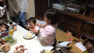 1歳誕生会.