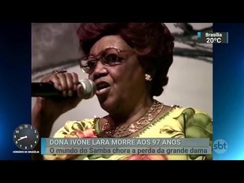 Dona Ivone Lara, a dama do samba, é enterrada no Rio de Janeiro | SBT Brasil (17/04/18)