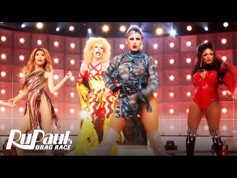 "The Queens Perform ""Phenomenon"" | RuPaul's Drag Race"