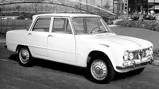 Alfa Romeo Giulia story, year 1962  - 1977 - prima puntata