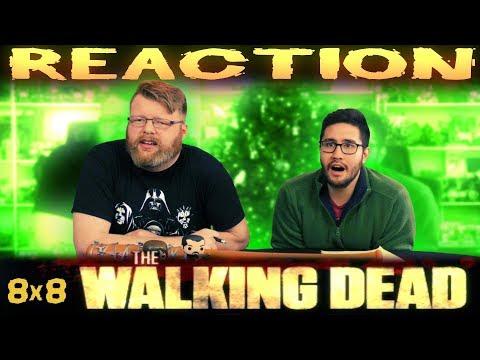 "The Walking Dead 8x8 REACTION!!  ""How It's Gotta Be"""