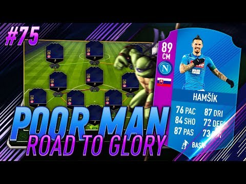 OPPORTUNITY COST OF COMPLETING 89 HAMSIK - COMMUNTIY TOTY - Poor Man RTG #75 - FIFA 18 Ultimate Team