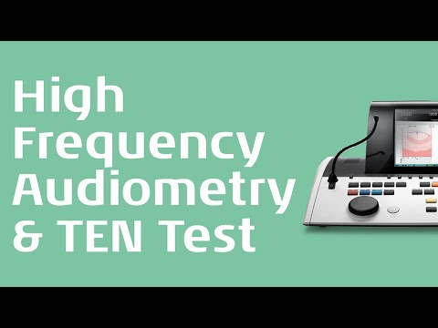 Advanced tests in Audiometry: Part 1
