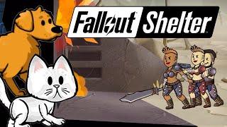 Fallout Shelter - Рейдеры vs Животные iOS