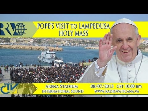Mass of the Pope at Lampedusa