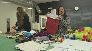 Group sews 'joey pouches' to help animals affected by Australia wildfires