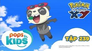 Pokémon Tập 239 - Sự Quyết Tâm Của Serena! Đường Đua Mekuru Khốc Liệt! - Hoạt Hình Pokémon S18 XY