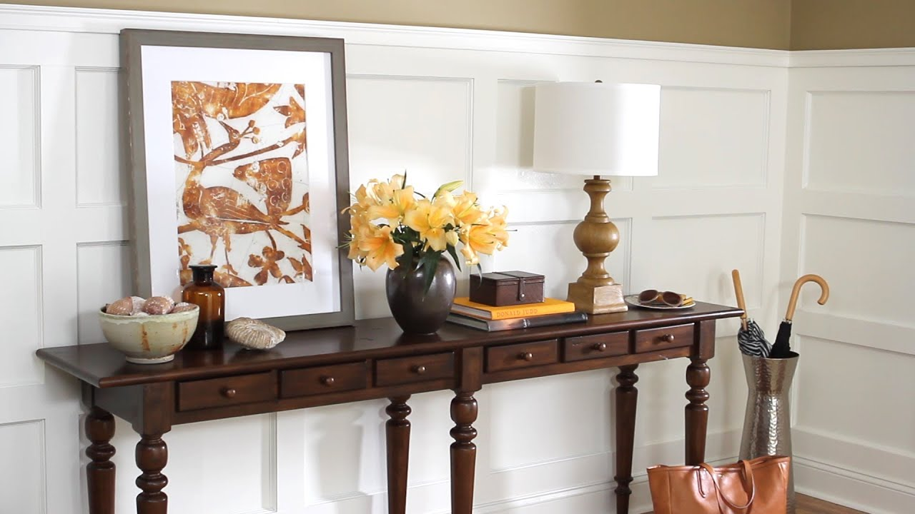 Wall Panel Moulding Design And Install